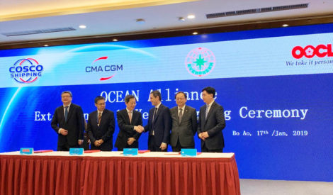CMA CGM Signed Ocean Alliance Extension to 2027