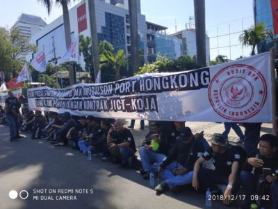 Urging for Self-Operating JICT and TPK Koja Terminals, Unions to Take Rally Action for One Month