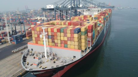 JICT the First Indonesia's Terminal Handling International Transhipment