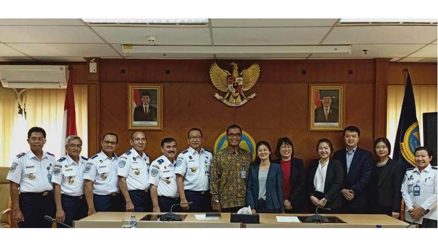 CEO - MPA Singapura Kunjungi Dirjen Perhubungan Laut, Kemenhub