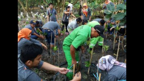 Kali ini, Program CSR MTI Dimanfaatkan untuk Perbaikan Lingkungan