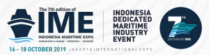 Indonesia Maritime Expo - IME 2019 @ Jakarta International Expo