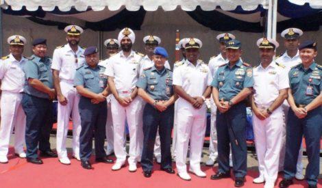 Tiga Kapal Perang India Singgah di Pelabuhan Tanjung Priok