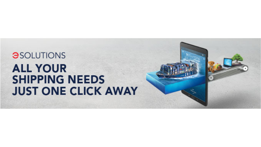 CMA CGM Unveils its Vision for a Digital Customer Journey and Launches CMA CGM eSolutions