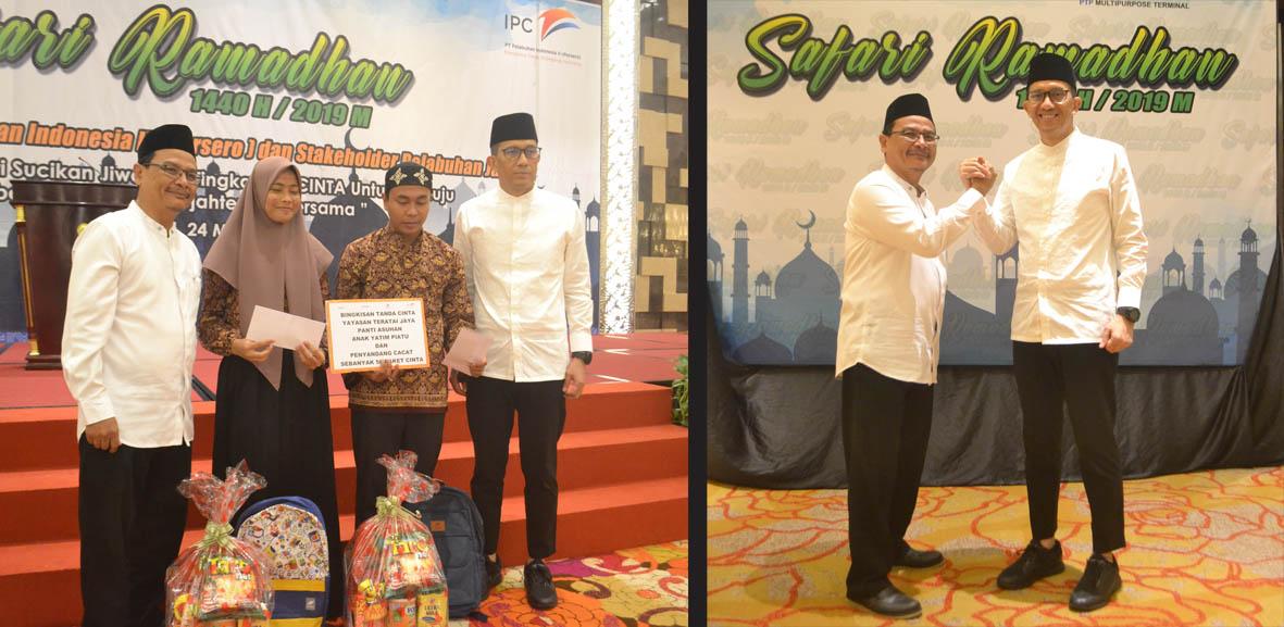 Safari Ramadhan di IPC Jambi, Selain Program CSR, Direktur IPC Buka Puasa Bersama Stakeholders dan Mitra Kepelabuhanan