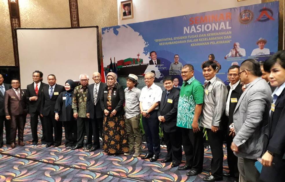 Seminar Peran Kesyahbandaran Kritisi Pembentukan Syahbandar Utama & KSOP