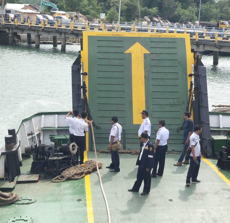 Dirjen Hubla Instruksikan UPT Lakukan Uji Petik Kapal Angkutan Laut Lebaran Tahun 2019