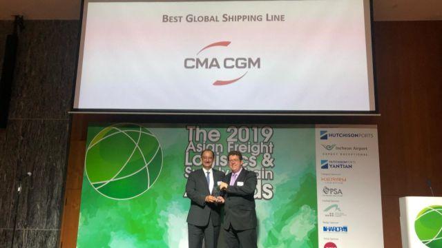 CMA CGM wins AFLA Awards