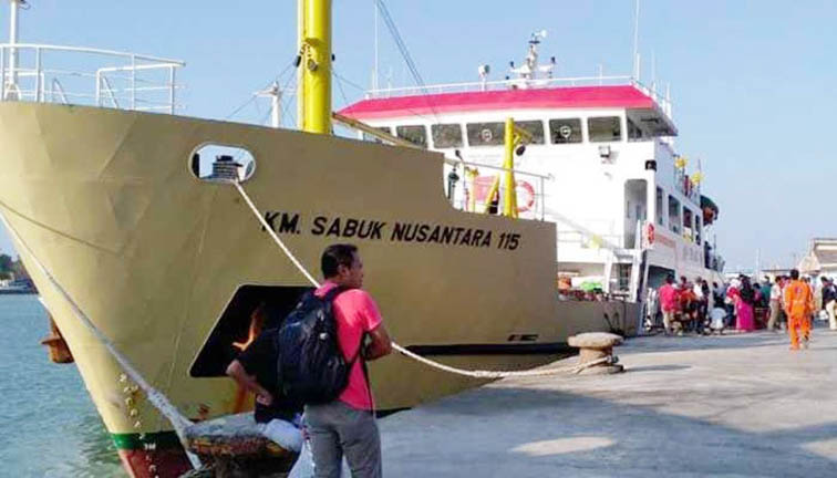 1.188.845 Orang Manfaatkan Moda Kapal Laut Sampai H+4 Angkutan Lebaran 2019