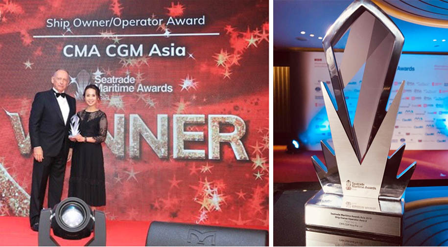 CMA CGM the Best Shipping Operator from Seatrade