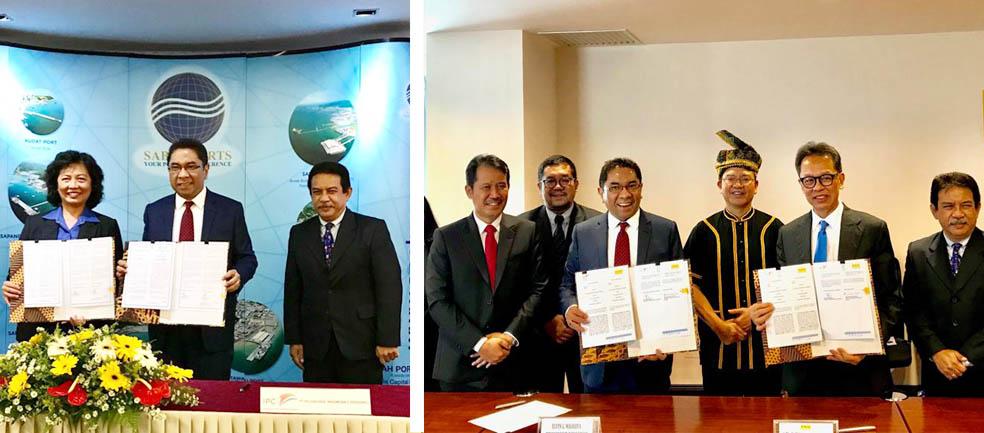 IPC Jalin Kerjasama Dengan Sabah Ports dan POIC di Sabah, Malaysia