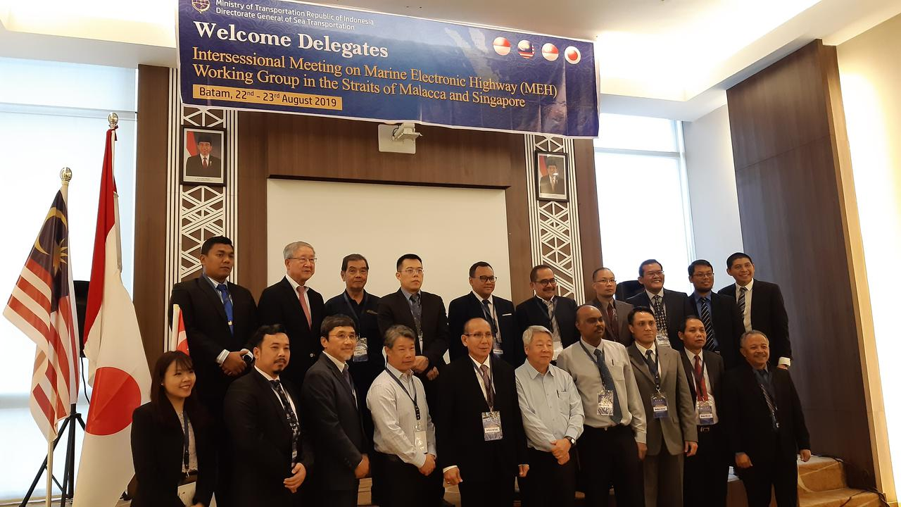 Bahas Marine Electronic Highway, Indonesia Gelar MEH Working Group Intersessional Meeting