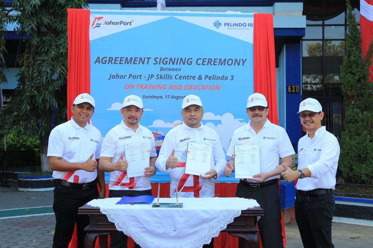Wujudkan SDM Unggul, Pelindo III Kirim Pegawai Ikuti Pelatihan di Pelabuhan Johor Malaysia
