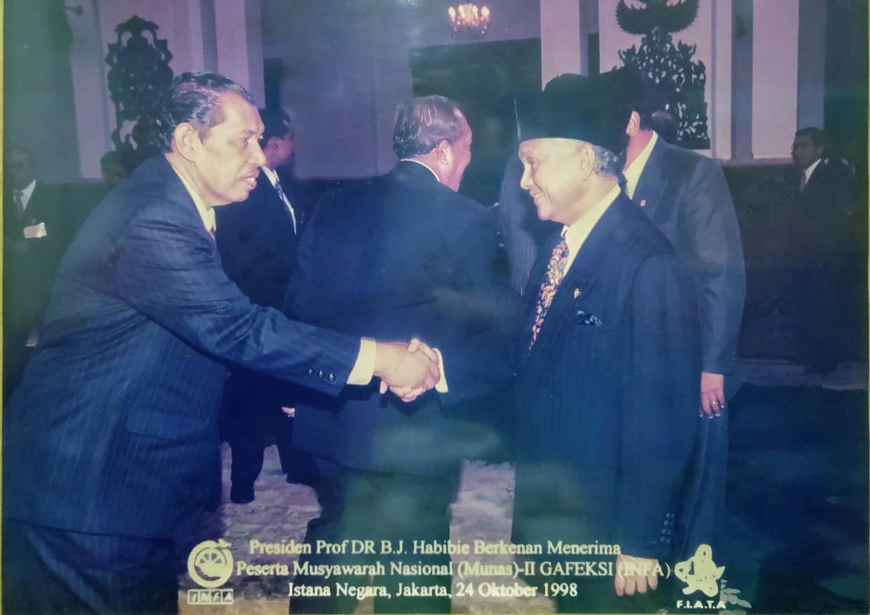 Selamat Beristirahat Inisiator Supply Chain Indonesia, BJ Habibie