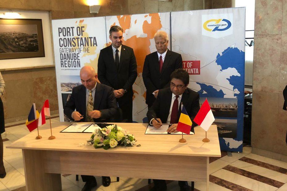 IPC, Rumania's Port of Constanta Build Sister Port Partnership