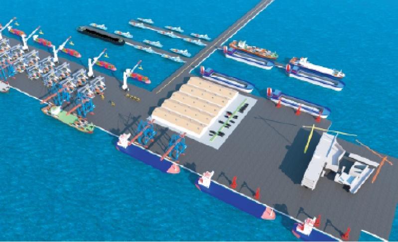 Kijing Port Design