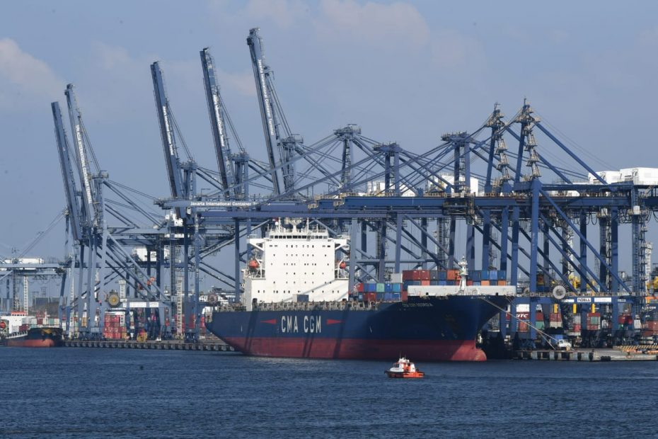 Priok Througput Dropped 7.7% in H1, Predictably Down 10% for the Whole Year of 2020