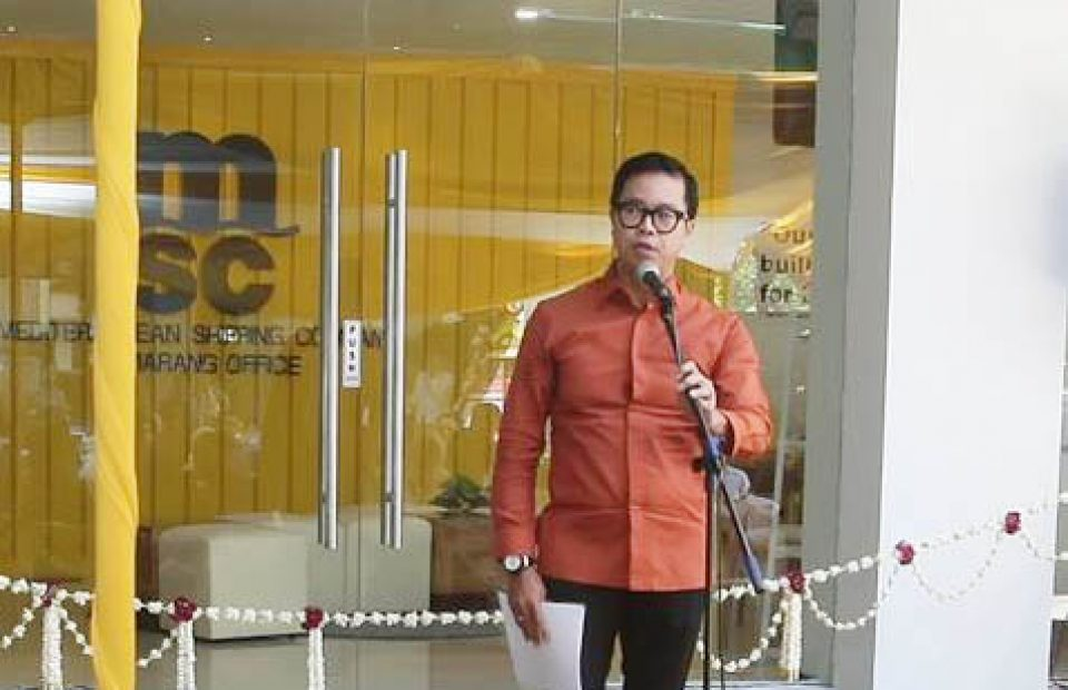 Repositioning Empty Containers to Jakarta, MSC Commits to Help Indonesian Export