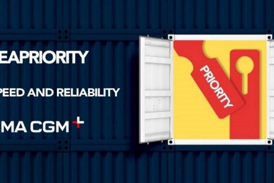 SEAPRIORITY get and SEAPRIORITY reach: 2 solusi value-added dalam katalog CMA CGM + untuk prioritas transportasi barang