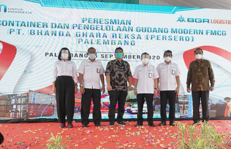 BGR Logistics Resmikan Depo Container dan Gudang Modern di Palembang