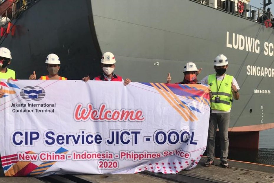 JICT the First Indonesia Terminal Handling OOCL's CIP Service
