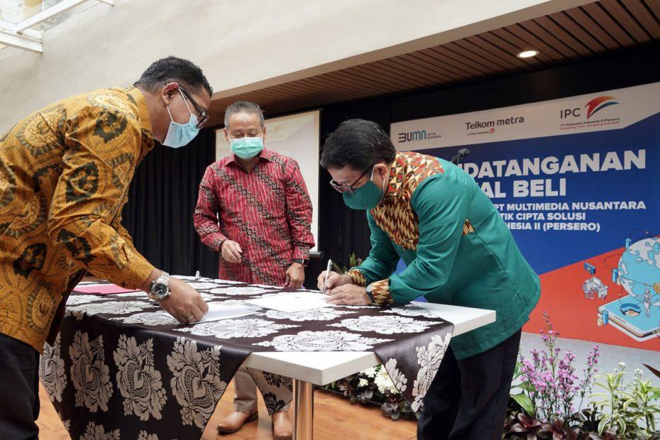 Siap Menjadikan Perusahaan Bisnis Tehnologi yang Menguntungkan, IPC Akuisisi Saham Multimedia Nusantara di ILCS