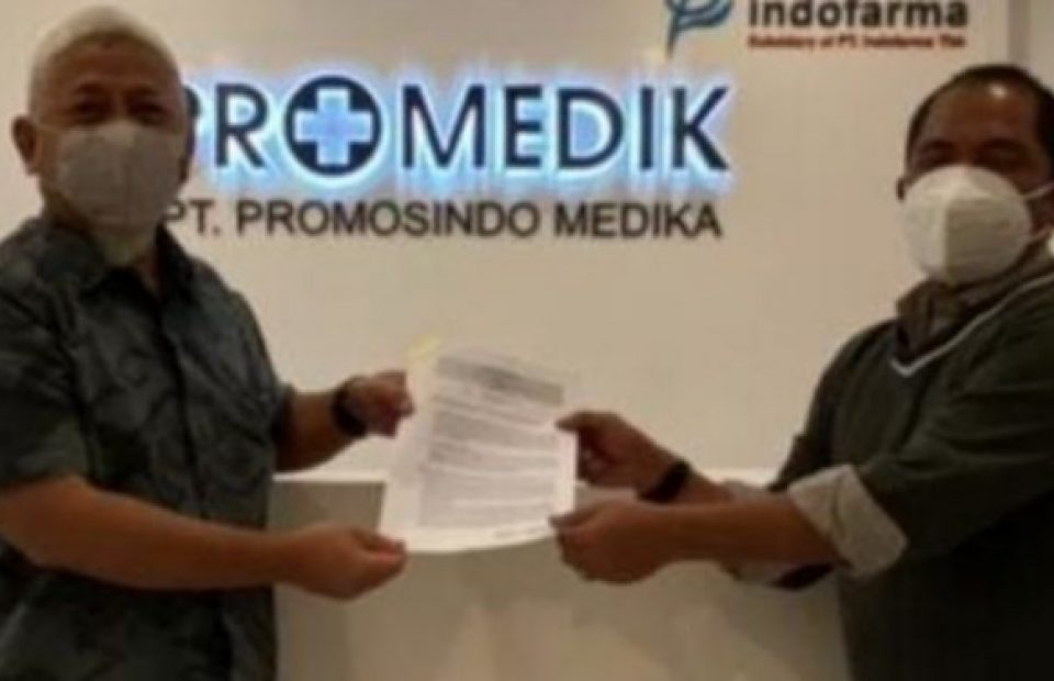 DFI Logistics, Promedik MoU on An Integrated Logistics