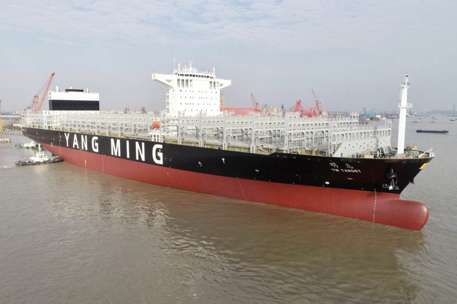 Yang Ming Deployed One More 11,000 TEU Container Ship to PN3 Trans-Pacific Service