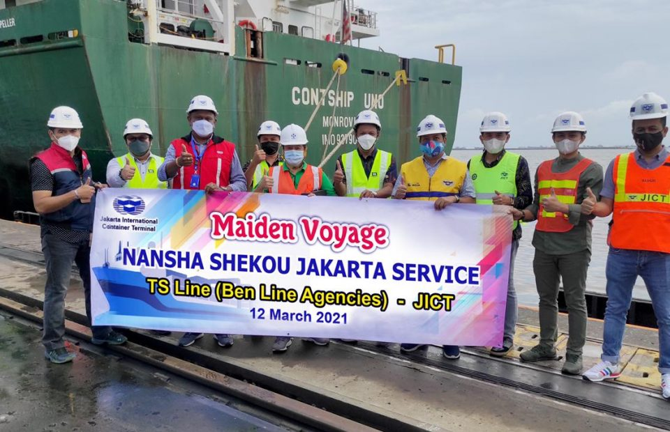 TS Line's NSJ the First JICT New Service in 2021