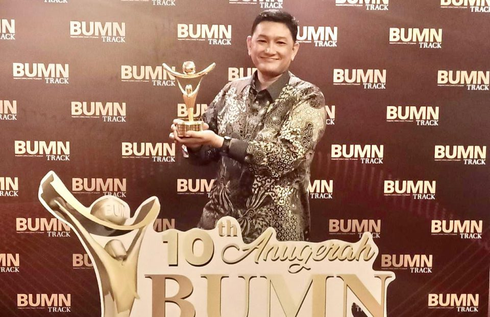 JICT Wins the Best Innovation and Technology Application from BUMN Award 2021