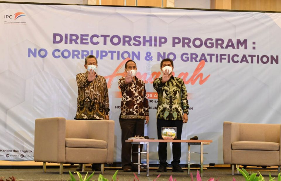 IPC Gandeng KPK Gelar Directorship Program Anti Korupsi dan Gratifikasi