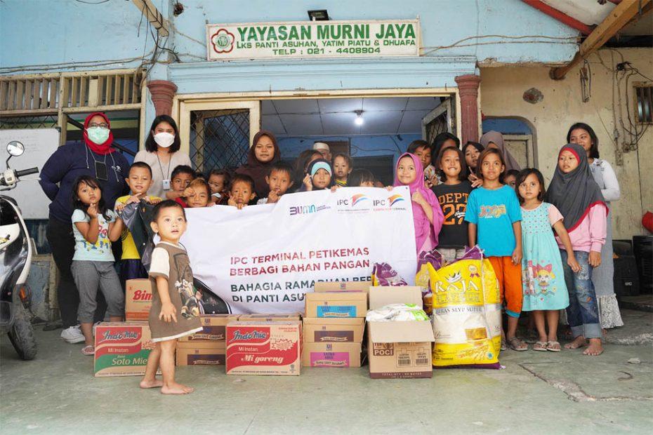 IPC TPK Berbagi Kebahagiaan Ramadhan di Tiga Panti Asuhan
