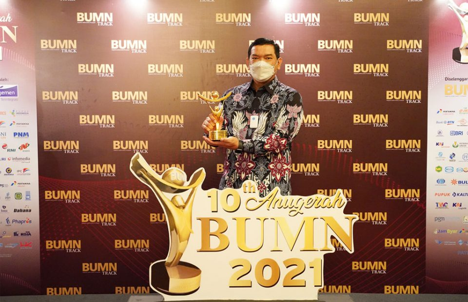 IPC TPK Raih Juara 1 Kategori GCG di BUMN Award 2021