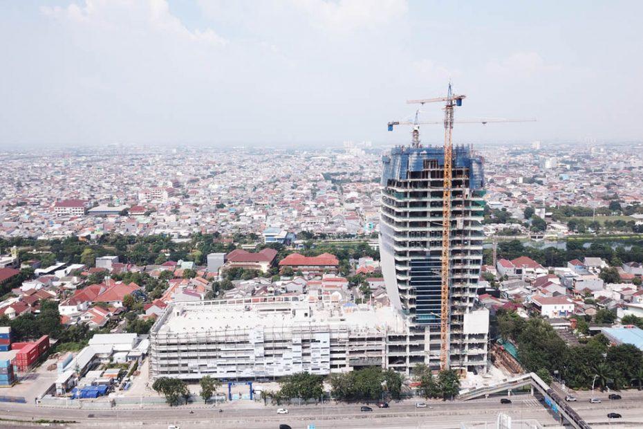 Proyek Maritime Tower Mencapai Progress 67,5% di Triwulan I 2021
