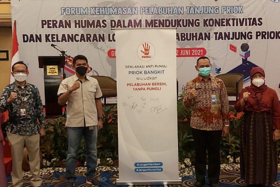 OP Priok Minta Forum Kehumasan Jelaskan Kinerja Priok Ke Publik Secara Tepat dan Proporsional