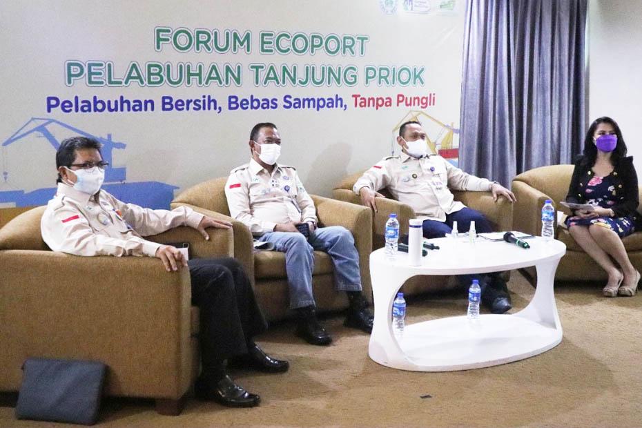 Pengelolaan Sampah di Pelabuhan Belum Optimal, Kemenhub Gelar Forum Ecoport Tanjung Priok