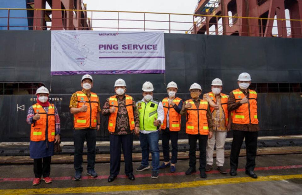 Meratus Line Buka Layanan Internasional PING Service